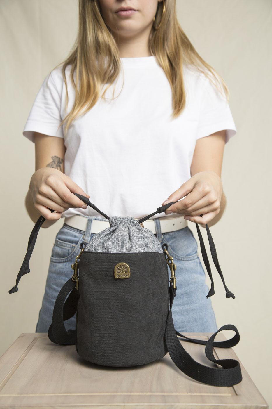 Elemental Bucket Bag Vegan (Black)