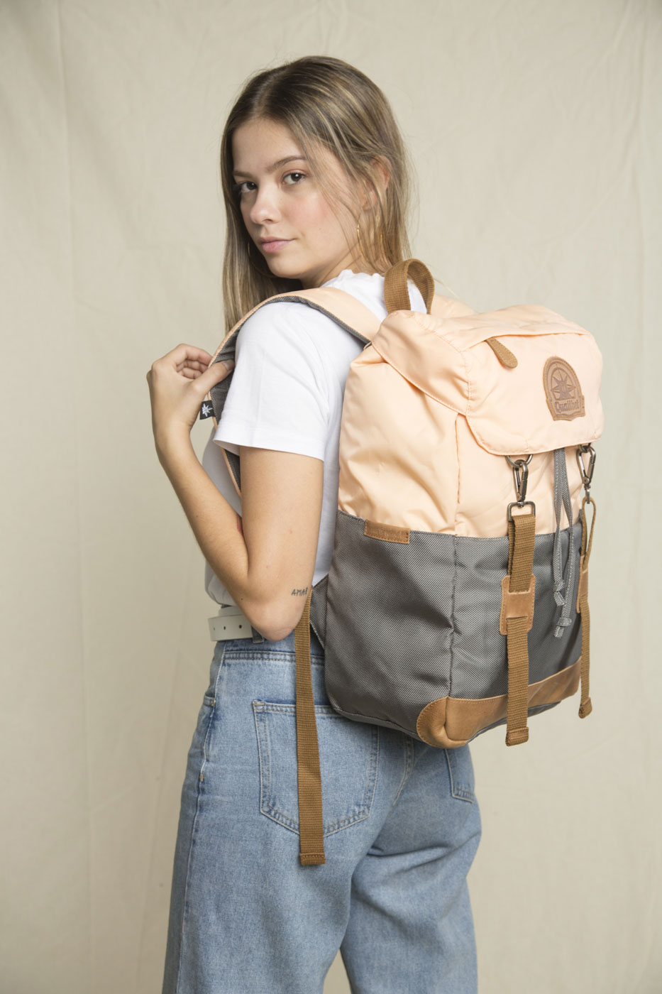 Ride Backpack Dual Pink