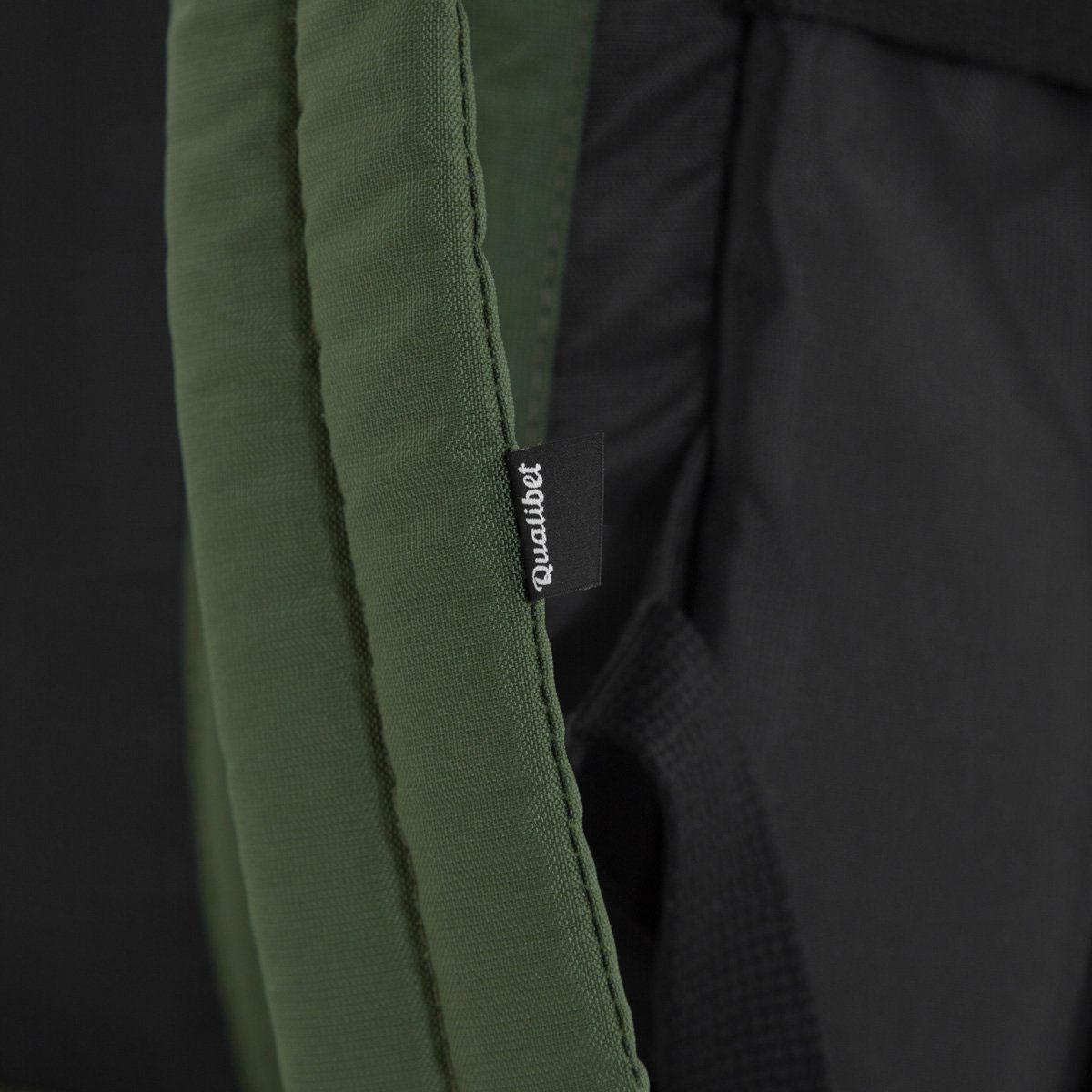 Biker Backpack Dual Green