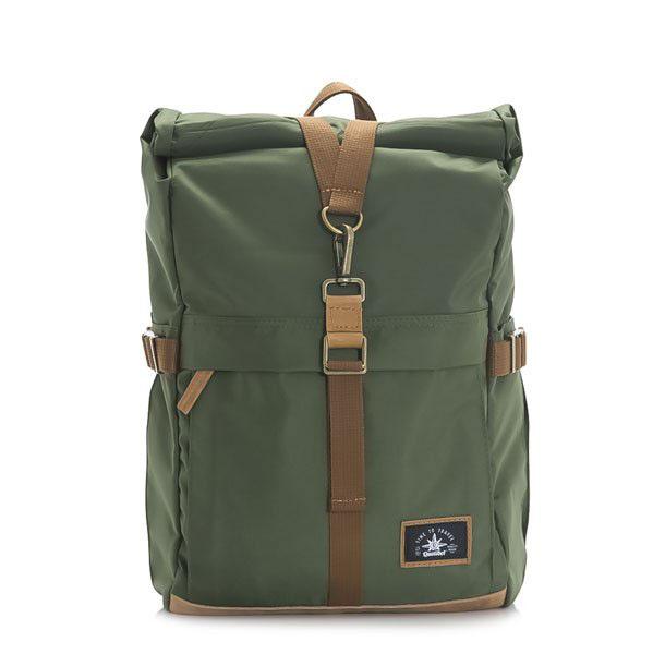 Biker Backpack Green