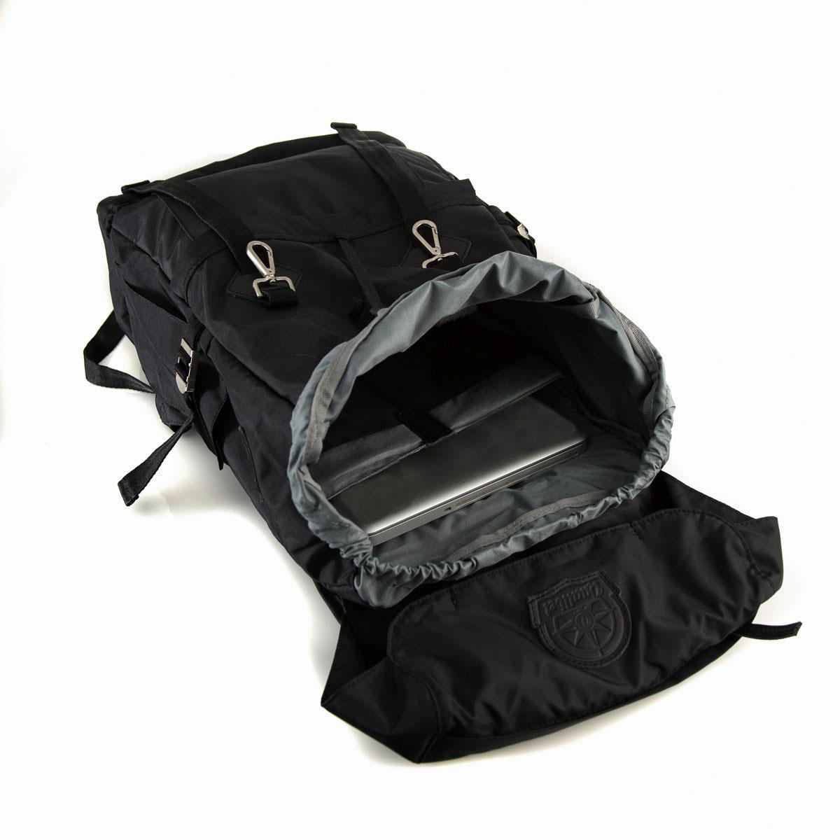 Camp Backpack Black