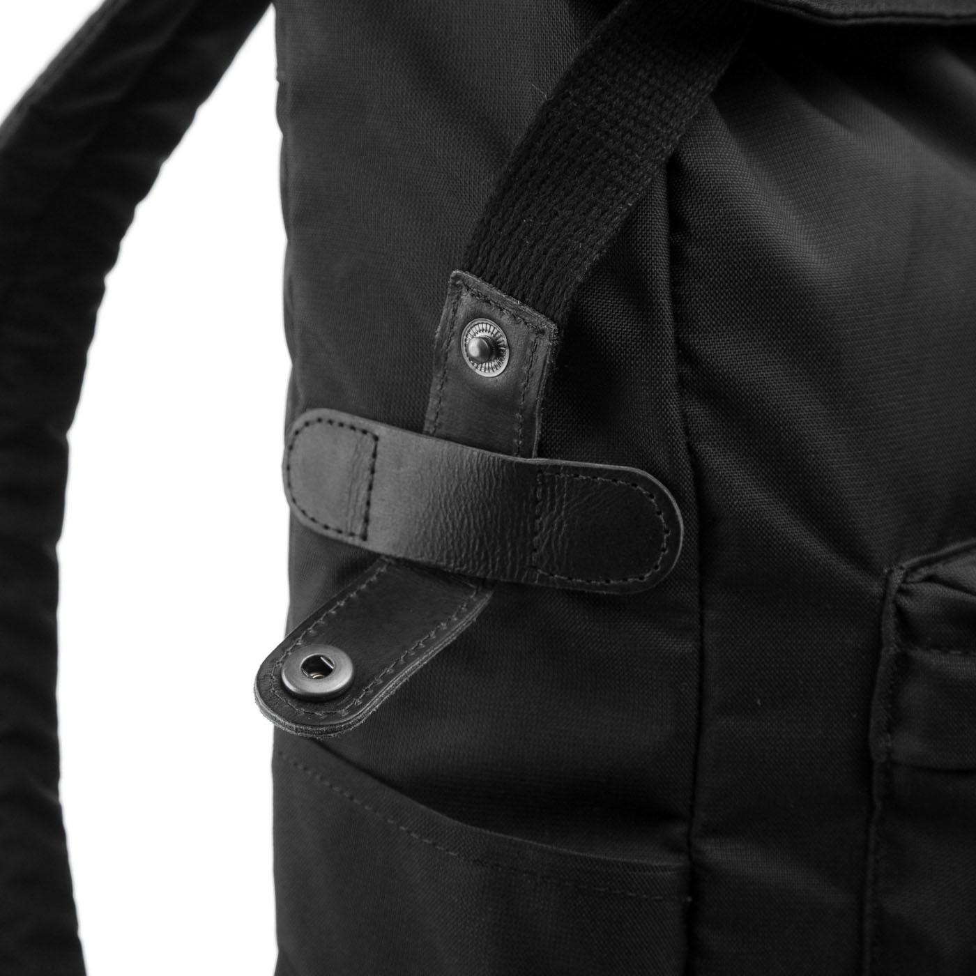 Street Backpack Total Black