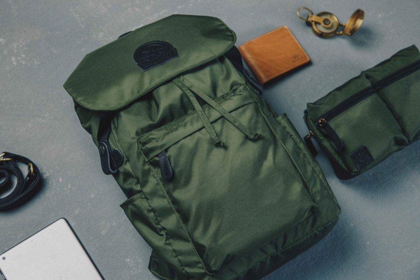 Street Backpack Green