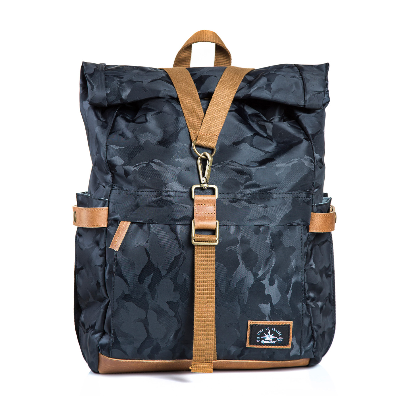 Biker Backpack Camo (Dark)