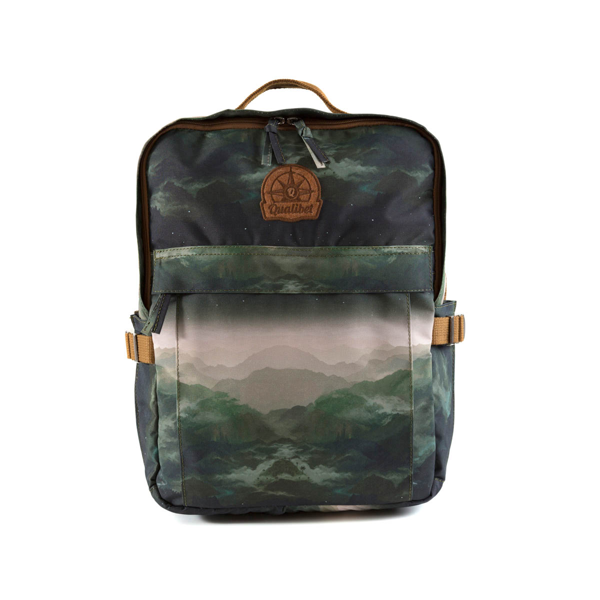 Square Backpack Montañas (Vegan)