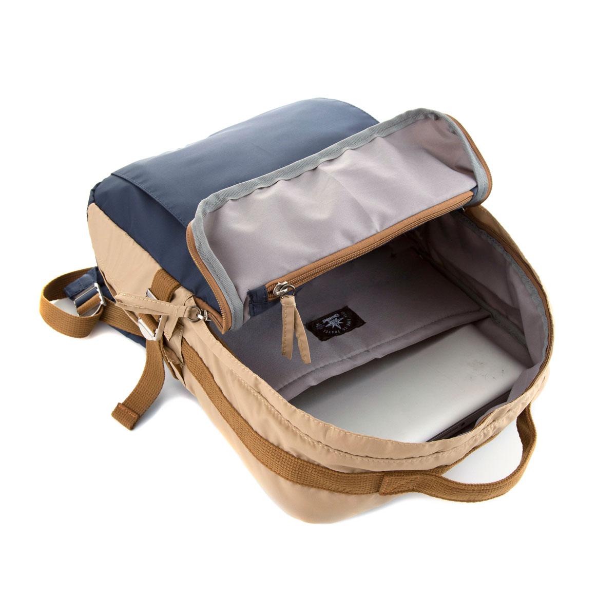 Square Backpack Terra (Vegan)