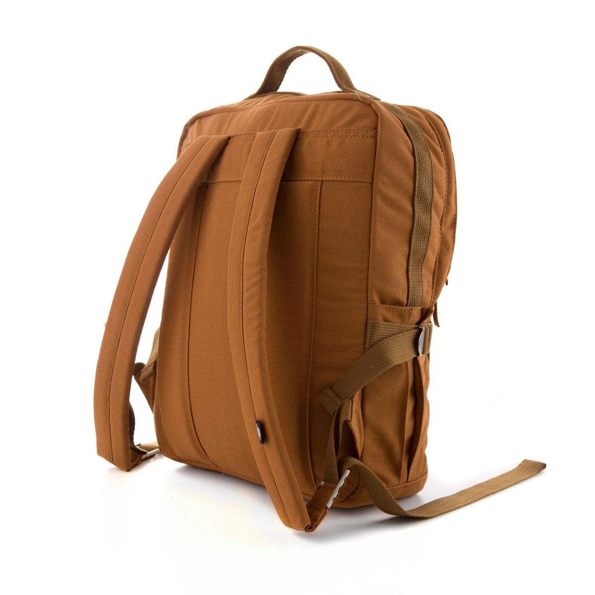Square Backpack Brown  (Vegan)
