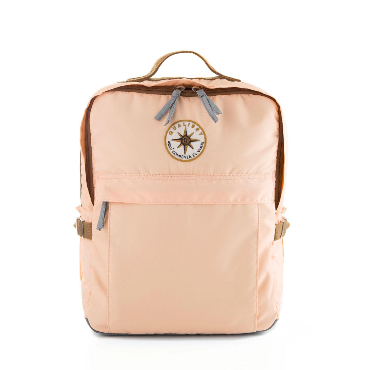 Square Backpack Dual Pink (Vegan)