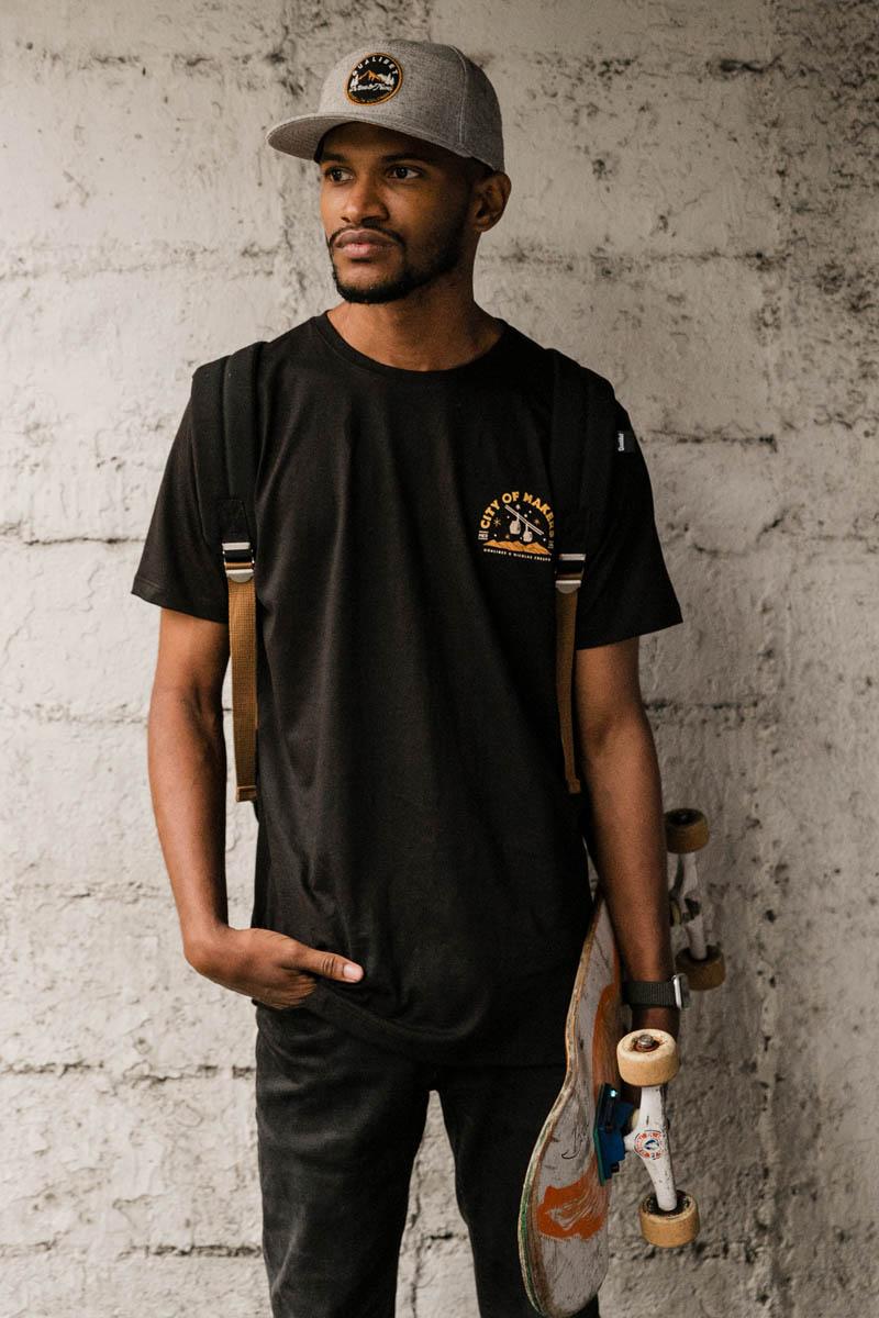 Qualibet T-Shirt City of Makers