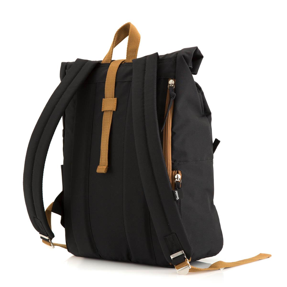 Rolltop Backpack Black