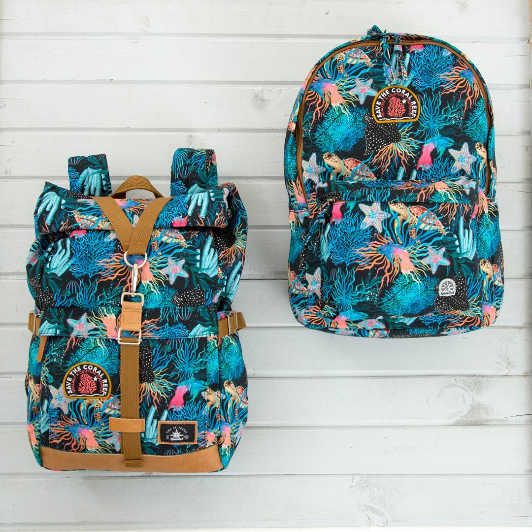 Biker Backpack Coral
