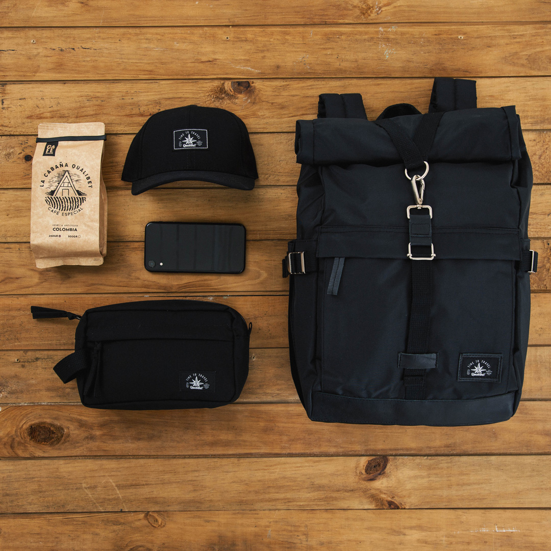 Biker Backpack Black