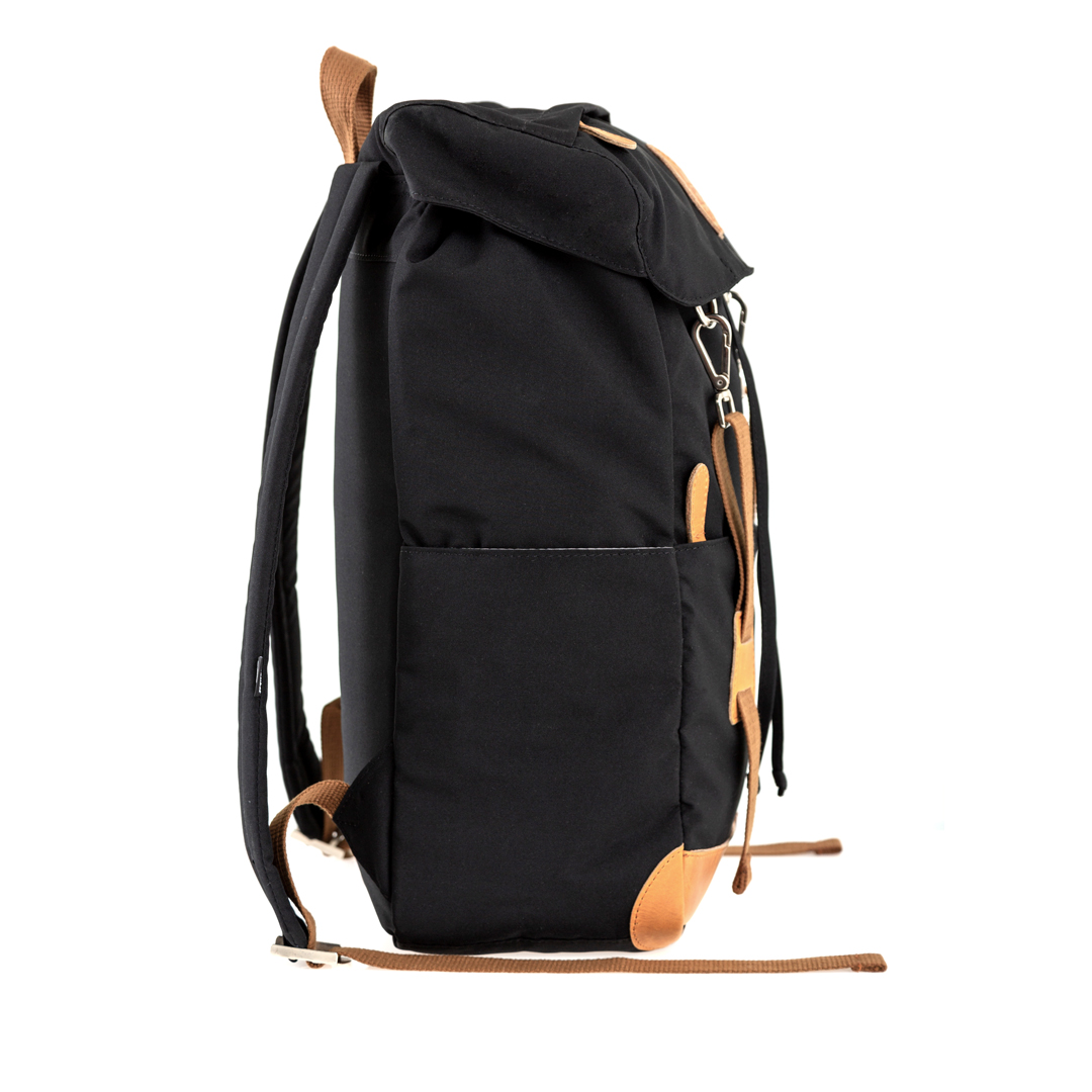 Ride Backpack Black & Tabaco
