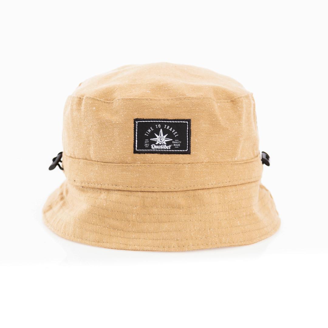 Qualibet Bucket Hat Camel Eco