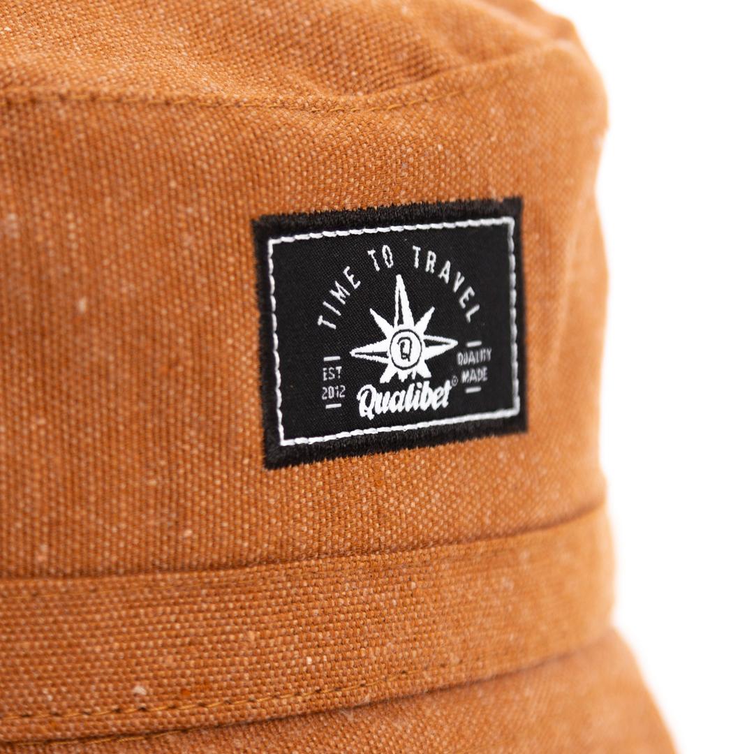 Qualibet Bucket Hat Brown Eco