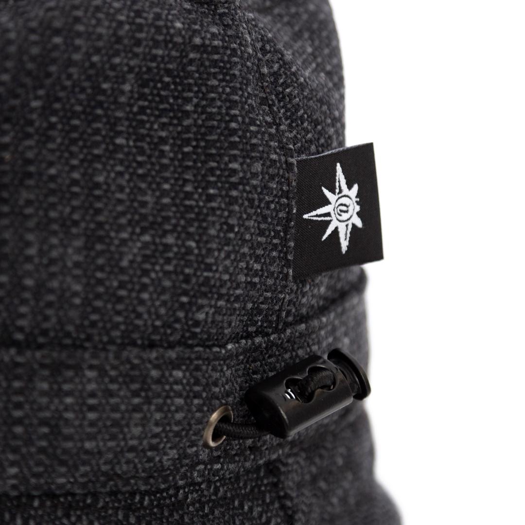 Qualibet Bucket Hat Black Eco