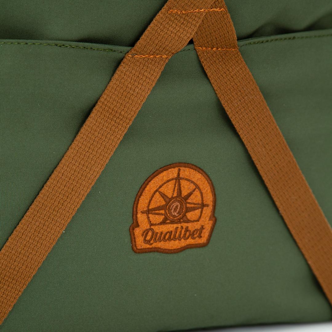 COMBO. Rolltop Backpack 2.0 + Camera Bag (Green)