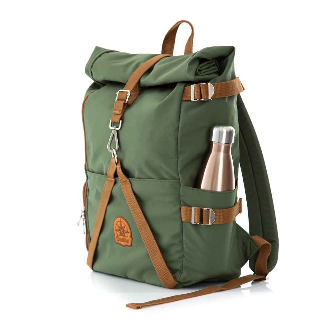 Rolltop Backpack 2.0 (Green)