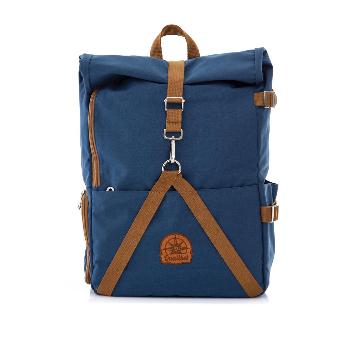 COMBO. Rolltop Backpack 2.0 + Camera Bag (Navy)