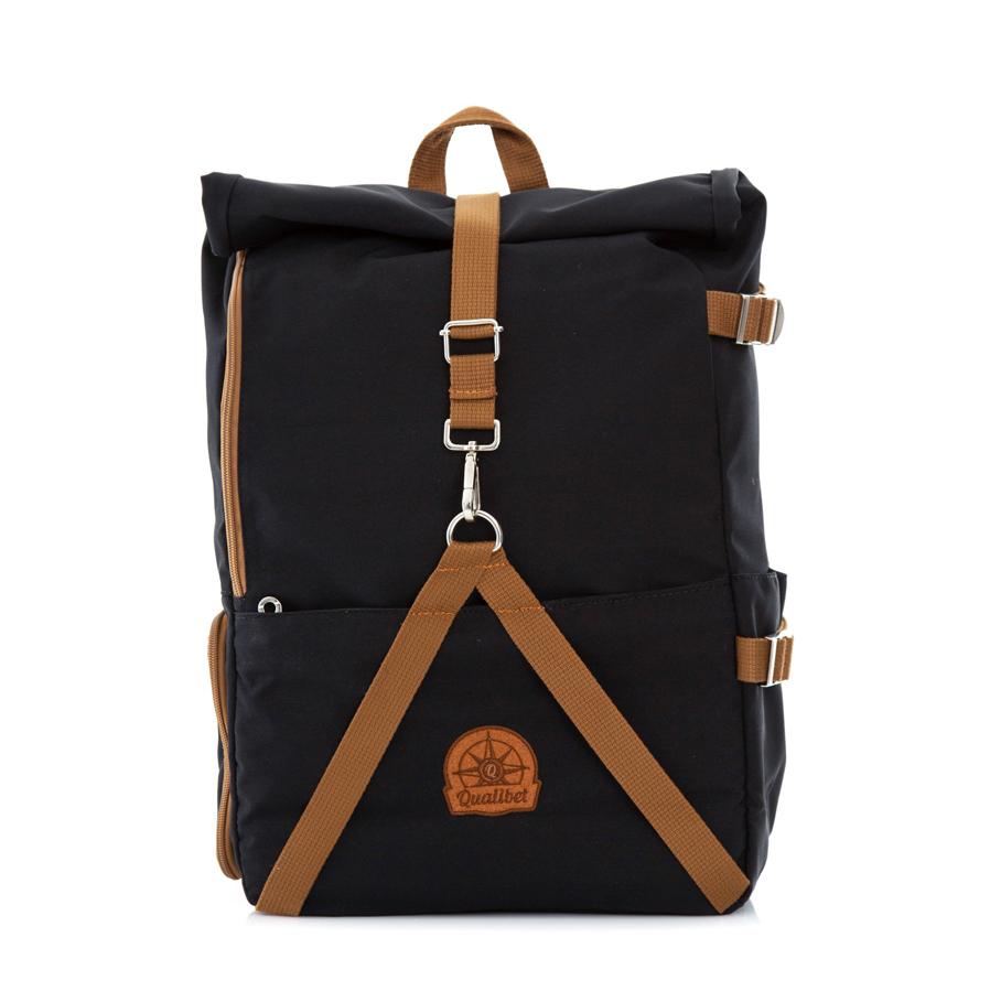 Rolltop Backpack 2.0 (Black)