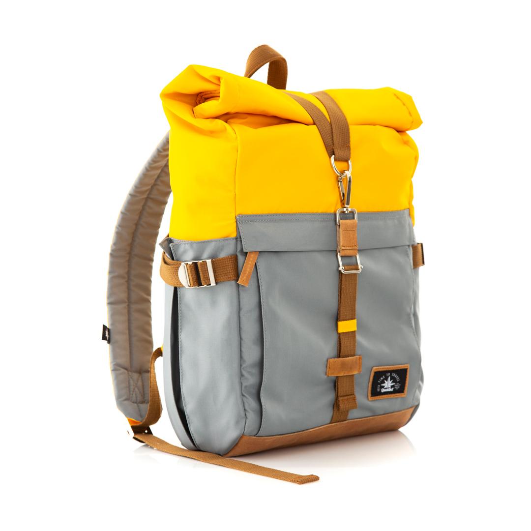 Biker Backpack Dual Mostaza