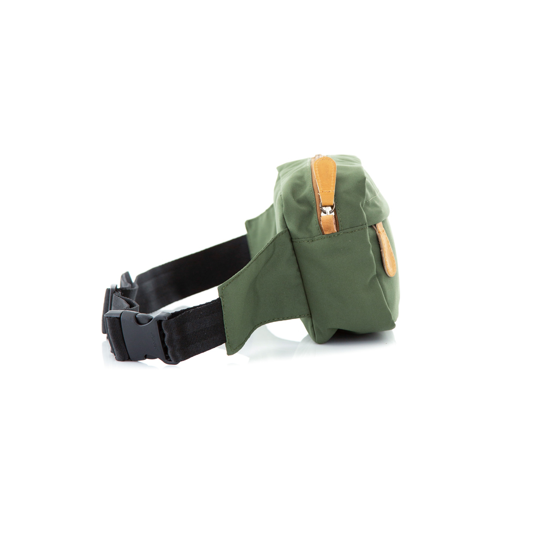 Hip Pack Classic Green x Tabaco