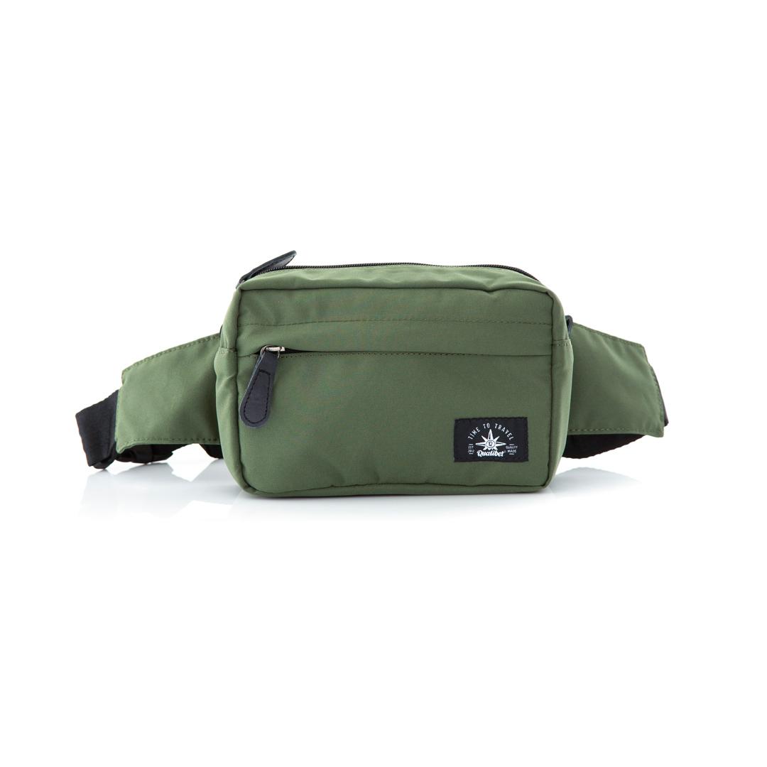 Hip Pack Classic Green x Black